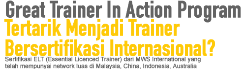 Great Trainer In Action Program (JAKARTA)