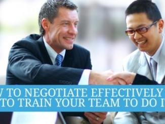 Seminar Negotiation Skills