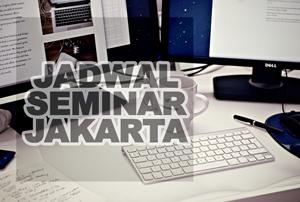 jadwal seminar jakarta