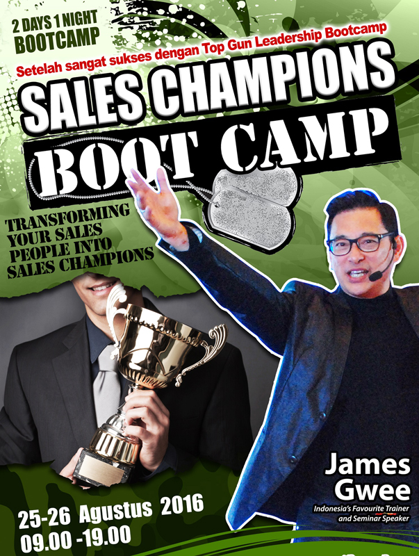 Sales Bootcamp James Gwee