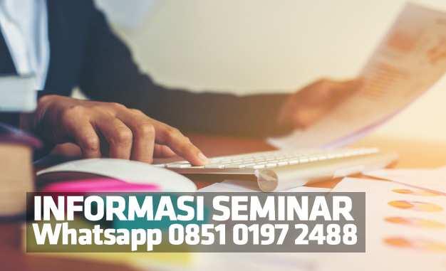 Jadwal Info Seminar 2017