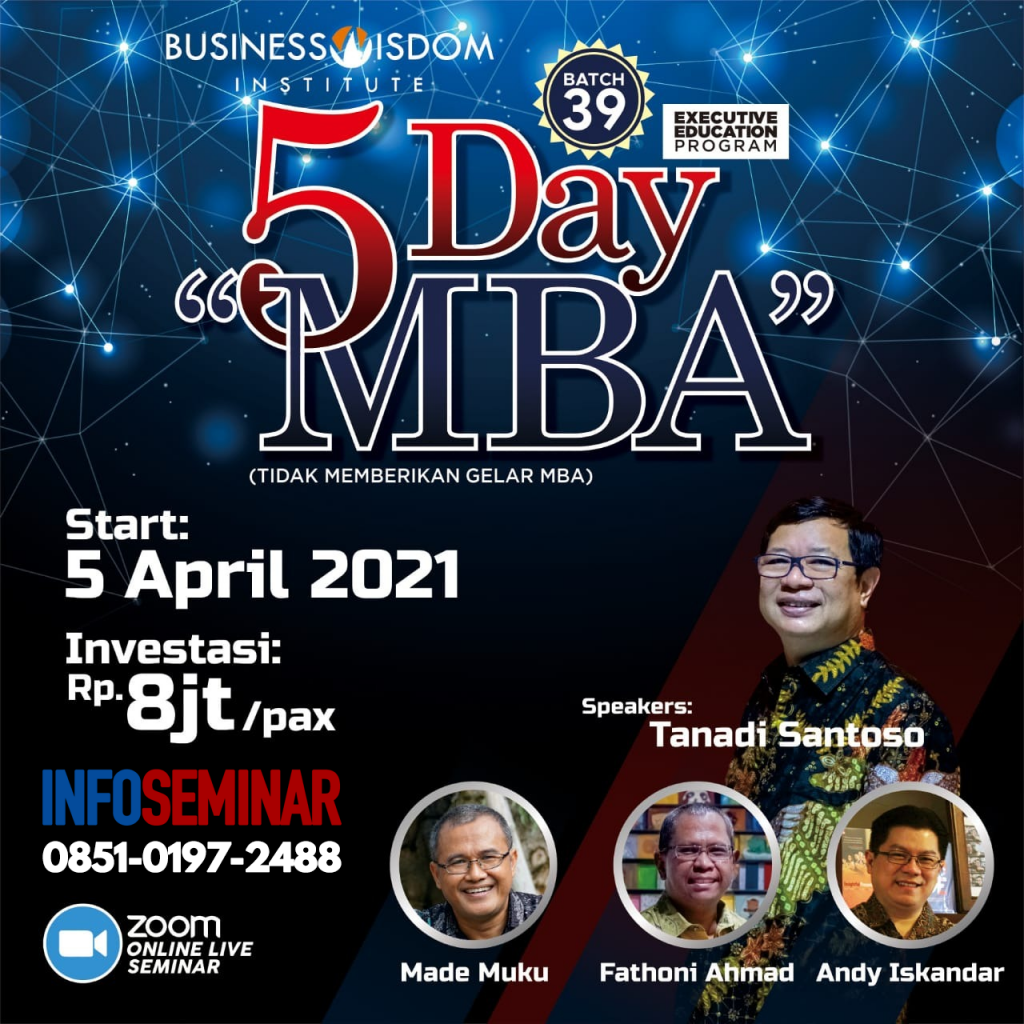 5 Day MBA